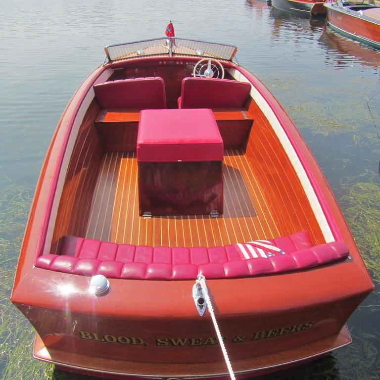 Norton Boat Works Of Green Lake Llc 1954 24 Chris Craft